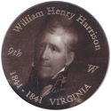 Island Bottlecap Company > U.S. Presidents 09-William-Henry-Harrison.