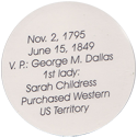 Island Bottlecap Company > U.S. Presidents 11-James-Knox-Polk-(back).