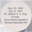 Island Bottlecap Company > U.S. Presidents 14-Franklin-Pierce-(back).