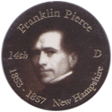 Island Bottlecap Company > U.S. Presidents 14-Franklin-Pierce.