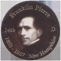 Island Bottlecap Company > U.S. Presidents 14-Franklin-Pierce.