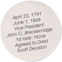 Island Bottlecap Company > U.S. Presidents 15-James-Buchanan-(back).