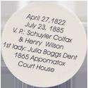 Island Bottlecap Company > U.S. Presidents 18-Ulysses-S.-Grant-(back).