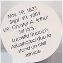Island Bottlecap Company > U.S. Presidents 20-James-A.-Garfield-(back).