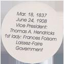 Island Bottlecap Company > U.S. Presidents 22-Grover-Cleveland-(back).