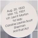 Island Bottlecap Company > U.S. Presidents 23-Benjamin-Harrison-(back).
