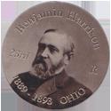 Island Bottlecap Company > U.S. Presidents 23-Benjamin-Harrison.