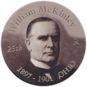 Island Bottlecap Company > U.S. Presidents 25-William-McKinley.