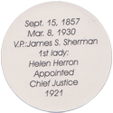 Island Bottlecap Company > U.S. Presidents 27-William-H.-Taft-(back).