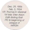 Island Bottlecap Company > U.S. Presidents 28-Woodrow-Wilson-(back).