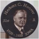 Island Bottlecap Company > U.S. Presidents 31-Herbert-C.-Hoover.