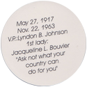 Island Bottlecap Company > U.S. Presidents 35-John-F.-Kennedy-(back).