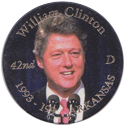 Island Bottlecap Company > U.S. Presidents 42-William-Clinton.
