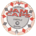 Jam Caps > 61-80 Garfield Back.