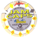 Jam Caps > 81-100 De Smurfen Back.