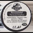 Leaf > Zaginiony Świat: Jurassic Park 07-Parazaurolof-Parasaurolophus-(back).