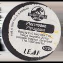 Leaf > Zaginiony Świat: Jurassic Park 10-Pteranodon-Pteranodon-(back).