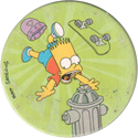 Magic Box Int. > Simpsons 045-Bart-falling-off-skateboard.