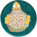 Magic Box Int. > Simpsons 097-Homer-eating-burger-(blue).