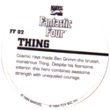 Marvel Comics - Toybiz > Fantastic Four FF-02-Thing-(back).