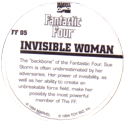 Marvel Comics - Toybiz > Fantastic Four FF-05-Invisible-Woman-(back).