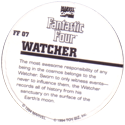 Marvel Comics - Toybiz > Fantastic Four FF-07-Watcher-(back).