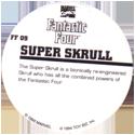 Marvel Comics - Toybiz > Fantastic Four FF-09-Super-Skrull-(back).