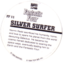 Marvel Comics - Toybiz > Fantastic Four FF-11-Silver-Surfer-(back).