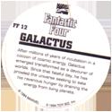 Marvel Comics - Toybiz > Fantastic Four FF-12-Galactus-(back).