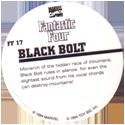 Marvel Comics - Toybiz > Fantastic Four FF-17-Black-Bolt-(back).