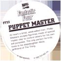 Marvel Comics - Toybiz > Fantastic Four FF-23-Puppet-Master-(back).