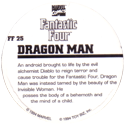 Marvel Comics - Toybiz > Fantastic Four FF-25-Dragon-Man-(back).