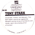 Marvel Comics - Toybiz > Iron Man IM-02-Tony-Stark-(back).