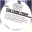 Marvel Comics - Toybiz > Iron Man IM-04-Fin-Fang-Foom-(back).