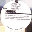 Marvel Comics - Toybiz > Iron Man IM-06-MODOK-(back).