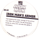 Marvel Comics - Toybiz > Iron Man IM-07-Iron-Man's-Armor-(back).