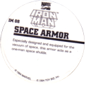 Marvel Comics - Toybiz > Iron Man IM-08-Space-Armor-(back).