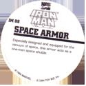 Marvel Comics - Toybiz > Iron Man IM-08-Space-Armor-(back).