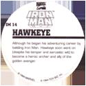 Marvel Comics - Toybiz > Iron Man IM-14-Hawkeye-(back).