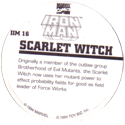 Marvel Comics - Toybiz > Iron Man IM-16-Scarlet-Witch-(back).