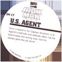 Marvel Comics - Toybiz > Iron Man IM-17-U.S.-Agent-(back).