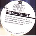 Marvel Comics - Toybiz > Iron Man IM-18-Dreadknight-(back).