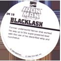 Marvel Comics - Toybiz > Iron Man IM-19-Backlash-(back).