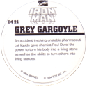 Marvel Comics - Toybiz > Iron Man IM-21-Grey-Gargoyle-(back).
