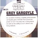 Marvel Comics - Toybiz > Iron Man IM-21-Grey-Gargoyle-(back).