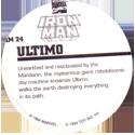 Marvel Comics - Toybiz > Iron Man IM-24-Ultimo-(back).