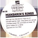 Marvel Comics - Toybiz > Iron Man IM-25-Mandarin's-Rings-(back).