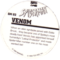 Marvel Comics - Toybiz > Spiderman SM-02-Venom-(back).