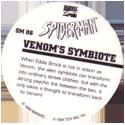 Marvel Comics - Toybiz > Spiderman SM-06-Venom's-Symbiote-(back).