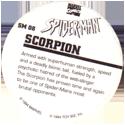 Marvel Comics - Toybiz > Spiderman SM-08-Scorpion-(back).